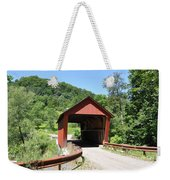 Braley Covered Bridge Weekender Tote Bag