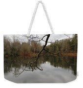 Branch And Water Weekender Tote Bag