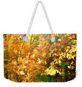 Branch Of Autumn Leaves Weekender Tote Bag