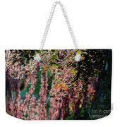 Branches Of A Tree With Colorful Leaves Shining In The Sunlight Weekender Tote Bag