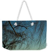 Branches Of A Weeping Willow Tree Weekender Tote Bag