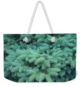 Branches Of Blue Spruce Weekender Tote Bag