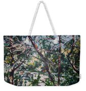 Branches Of Light Weekender Tote Bag