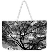 Branching Out In Bw Weekender Tote Bag