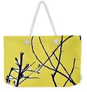 Branching Out Snowscape 3 Weekender Tote Bag