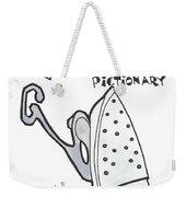 Branding Iron Weekender Tote Bag