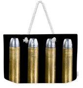 Brass And Lead Bullets. Weekender Tote Bag