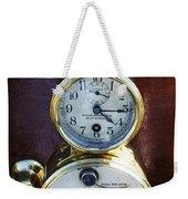 Brass Auto-meter Speedometer Weekender Tote Bag