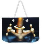 Brass Water Weekender Tote Bag