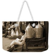 Brassed Off. Weekender Tote Bag