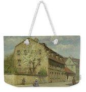 Braune Weimar Weekender Tote Bag by Christoph Martin Weiland