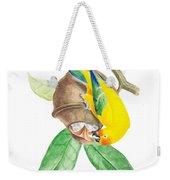 Brazilian Parrot Weekender Tote Bag