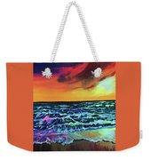 Brazilian Sunset Weekender Tote Bag