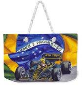Brazil's Ayrton Senna Weekender Tote Bag