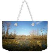 Brazos Bend Winter Wetland Weekender Tote Bag