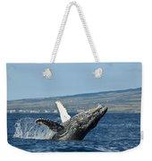 Breach Near Maui I Weekender Tote Bag