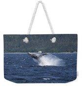 Breaching Whale. Weekender Tote Bag