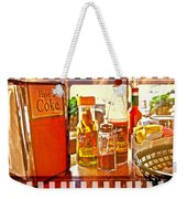 Breakfast At Paul's Weekender Tote Bag by Toni Hopper