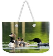 Loon Mom Serves Breakfast In Bed Weekender Tote Bag