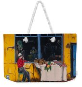 Breakfast In Capri Weekender Tote Bag