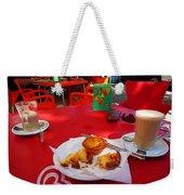 Breakfast In Portugal Weekender Tote Bag