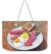 Breakfast Is Served Weekender Tote Bag