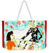 Breakfast With A Witch Weekender Tote Bag