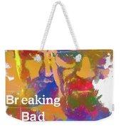 Breaking Bad Watercolor Weekender Tote Bag