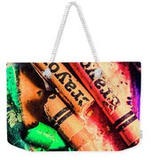 Breaking The Creative Spectrum Weekender Tote Bag
