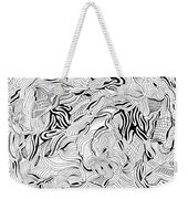 Breaking Up Weekender Tote Bag