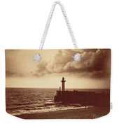 Breakwater At Sete Weekender Tote Bag