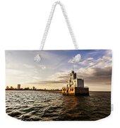 Breakwater Lighthouse Weekender Tote Bag