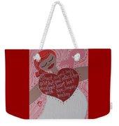 Breast Cancer Goddess Weekender Tote Bag