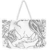 Breastfeeding Is Beautiful Weekender Tote Bag