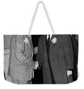 Breath Smelling Doorman Weekender Tote Bag