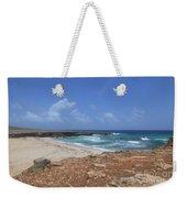 Breathtaking View Of Daimari Beach In Aruba Weekender Tote Bag