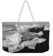 Brethamerkursandur Iceberg Beach Iceland 2319 Weekender Tote Bag