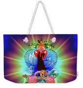Brian Exton Peace Light And Love  Bigstock 164301632  12779828 Weekender Tote Bag