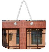 Brick Building Weekender Tote Bag