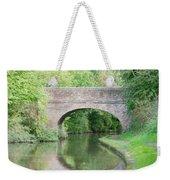 Brick Canal Bridge  Weekender Tote Bag