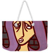 Brick Lady Weekender Tote Bag