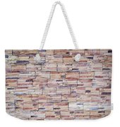 Brick Tiled Wall Weekender Tote Bag