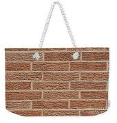 Brick Wall Weekender Tote Bag