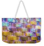 Brick Wall In Abstract 499 S Weekender Tote Bag