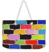 Bricks Of Life Weekender Tote Bag