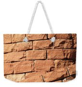 Bricks Spiraling Weekender Tote Bag