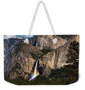 Bridalveil Falls Rainbow #3 Weekender Tote Bag