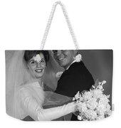 Bride And Groom, C.1960s Weekender Tote Bag
