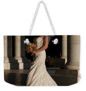 Bride In A Park Weekender Tote Bag