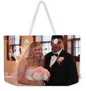 Brideandgroom Weekender Tote Bag